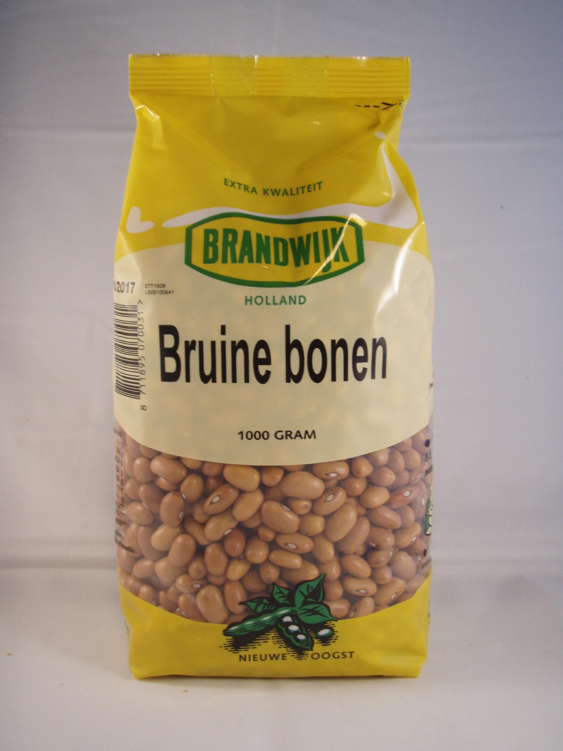 Bruine bonen 1000gr. Brandwijk