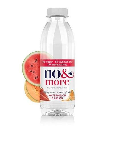 Watermeloen & meloen bronwater 500ml. No & More