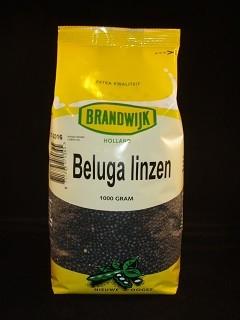 Beluga linzen 1000gr. Brandwijk