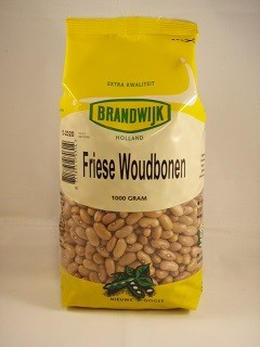 Friese woudbonen 1000gr. Brandwijk