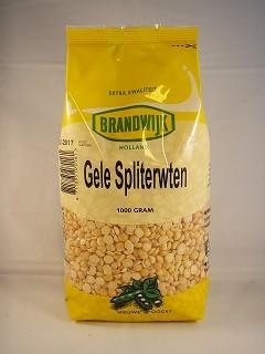 Gele spliterwten 1000gr. Brandwijk