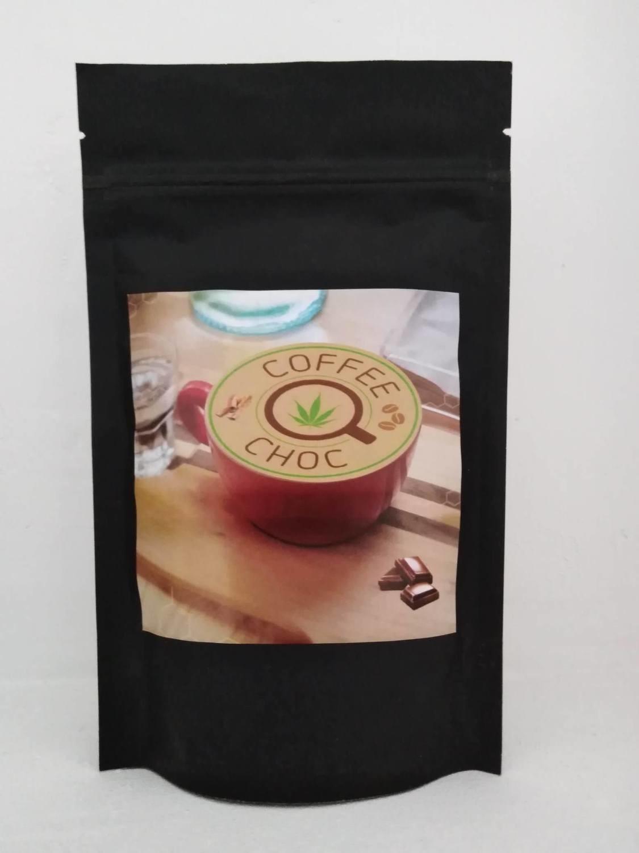 Coffee choc 125gr. CBD-koffie