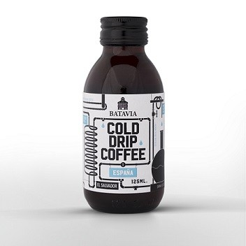 Koffie Cold drip coffee El Salvador Espana 125ml. Batavia