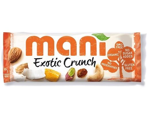 Mani Exotic Crunch noten/vruchtenmix 45 gram
