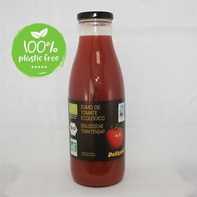 Tomatensap BIO 6fl.van 750ml. Delizum