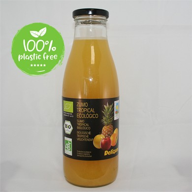 Tropicalsap BIO 750ml. Delizum