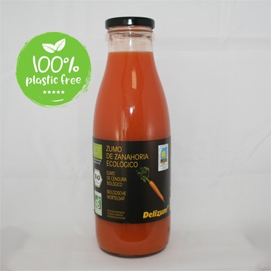 Wortelsap BIO 750ml. Delizum