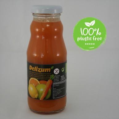 Mediterranee sinaasappelsap BIO 200ml. Delizum