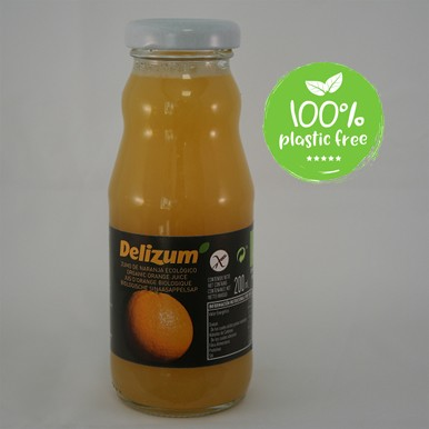 Sinaasappelsap BIO 200ml. Delizum