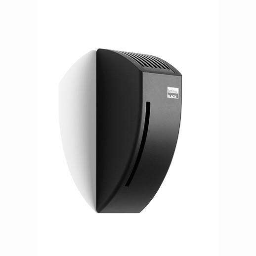 Satino Black luchtverfrisser dispenser - kunststof matzwart