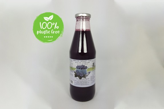 Blauwe bessensap 750ml. Dutch Cranberry