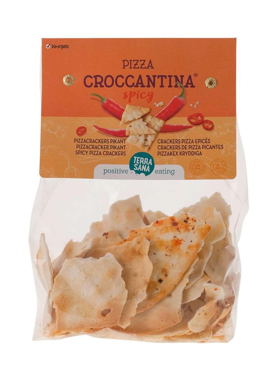 Pizza croccantina pikant 200gr. TerraSana