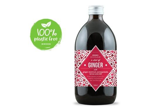 Gember vitamine shot BIO 500ml. Organic Human