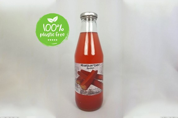 Rabarbersap 750ml. Dutch Cranbery