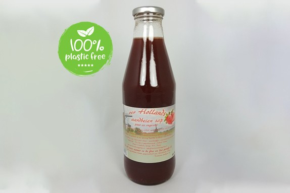 Aardbeiensap 750ml. Dutch Cranberry