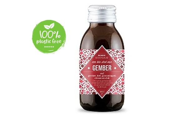 Gember vitamine shot BIO 100ml. Organic Human