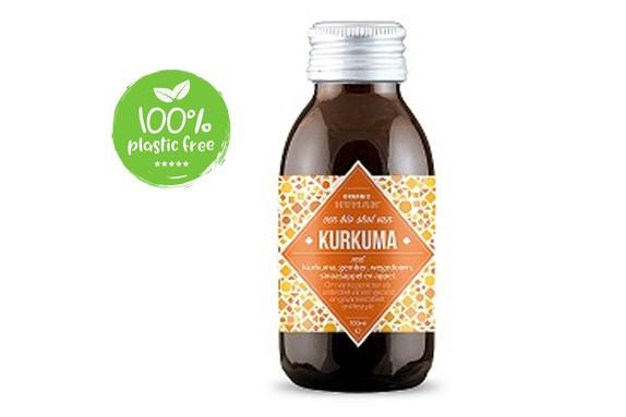 Kurkuma vitamine shot BIO 100ml. Organic Human