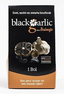 Knoflook bol zwart 1 bol Blackgarlic