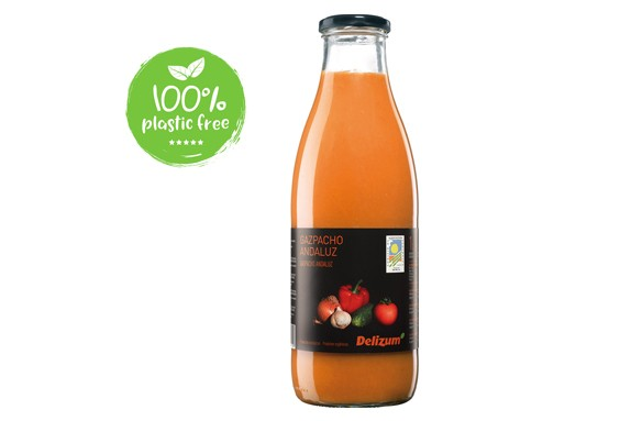 Gazpacho BIO 6st. van 750ml. Delizum(Andalusische soep)