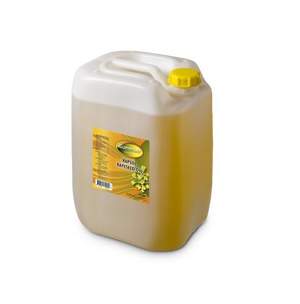 Raapolie jerrycan 20ltr. Summum Natuurgroothandel
