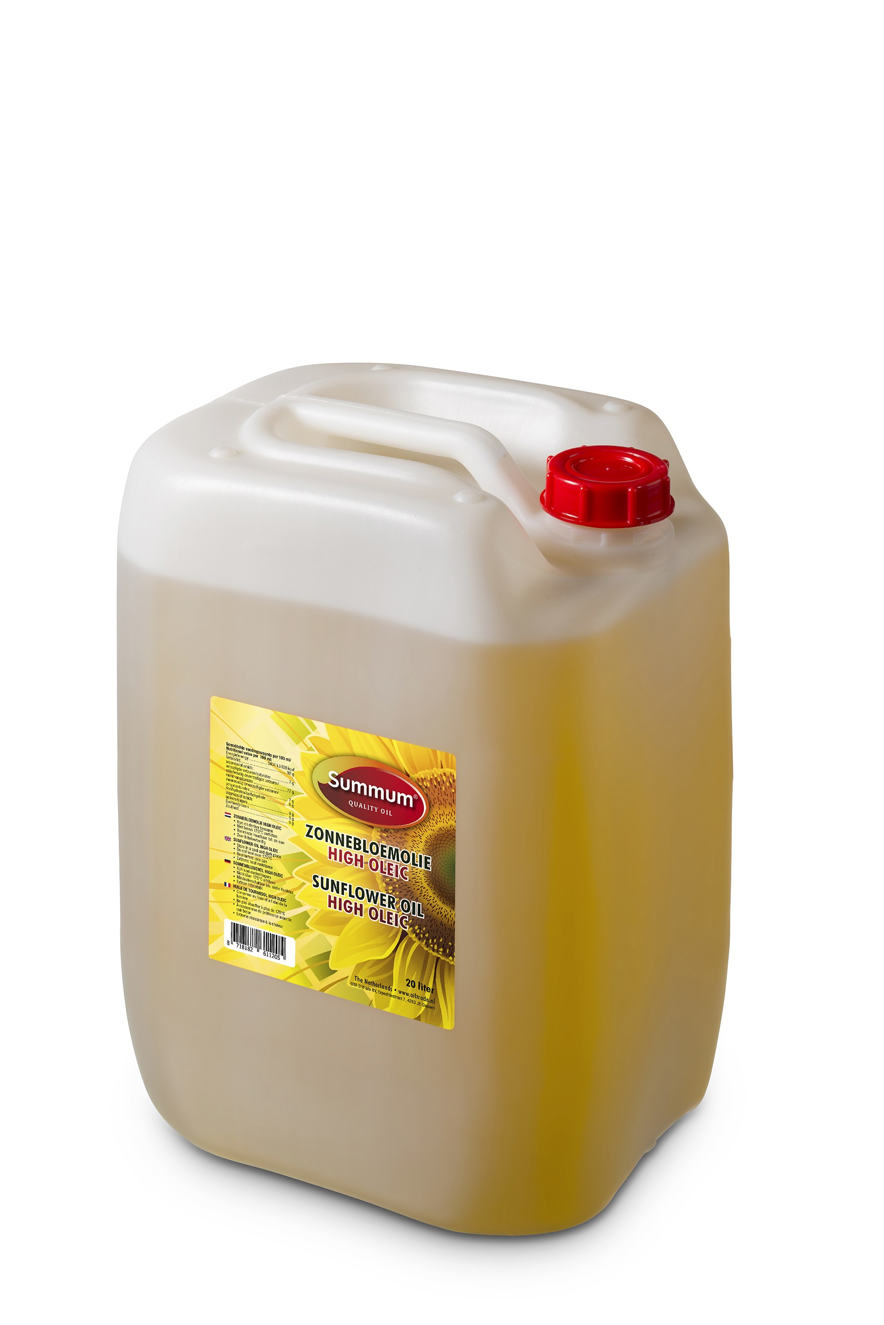 Summum HOSO-zonnebloemolie 20 liter