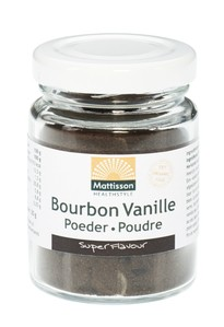 Mattisson Bourbon vanillapoeder BIO 30 gram