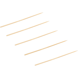 Sateprikker bamboe FSC 150mm Ø2,5mm pak 2000st. Biodore