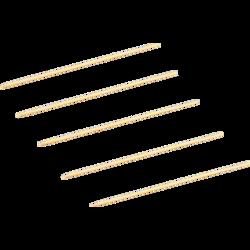 Sateprikker bamboe FSC 180mm Ø2,5mm pak 2000st. Biodore