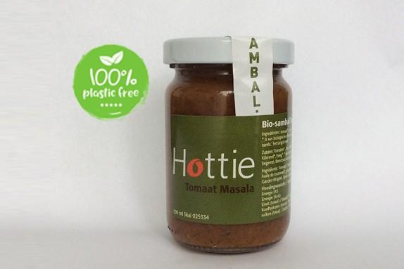 Sambal tomaten masala BIO 100ml. Hottie