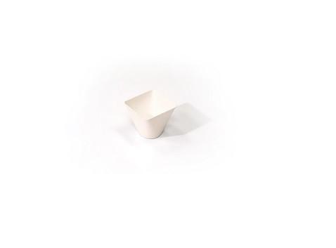 Bakje conisch Bagastro 6cl 50x5xxh45 mm 40st. Sier