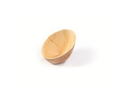 Palm kom ovaal schuin 100x72xh60/24mm 20 stuks