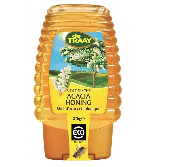 De Traay Acacia honing EKO fles 375 gr