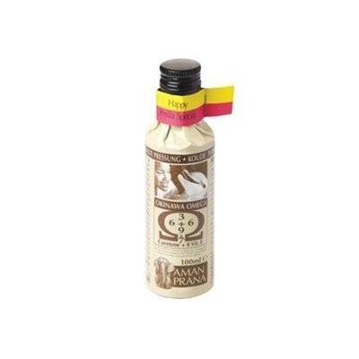 Amanprana Okinawa omega olie Happy Perilla Special BIO 100 ml