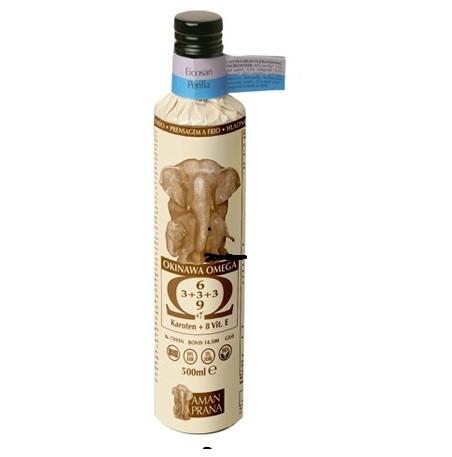 Amanprana Okinawa omega olie Eicosan Perilla BIO 500 ml