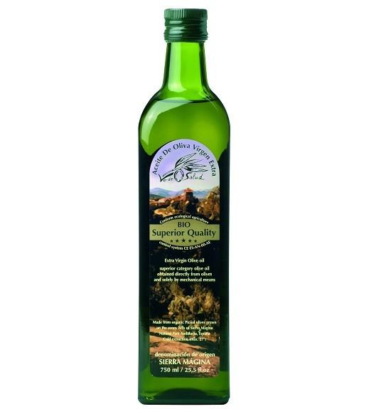Olijfolie Verde salut extra vierge BIO 500ml. Amanprana