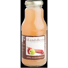 's Lands Beste Appel rabarbersap BIO 250 ml