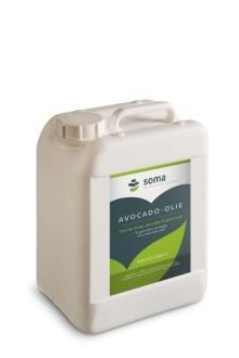Avocado olie jerrycan 5liter. Soma