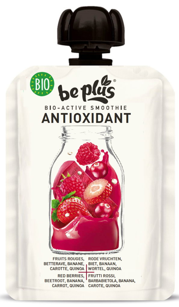 Smoothie antioxydant 14st.*150gr. Be Plus