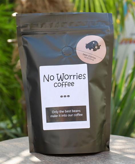 No Worries Bear koffie 1000 gr