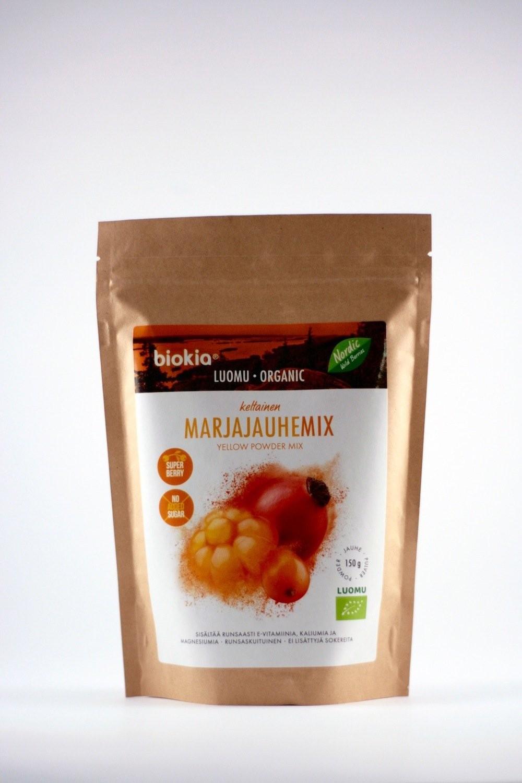 Gele bessenpoeder Organic 150gr. Biokia