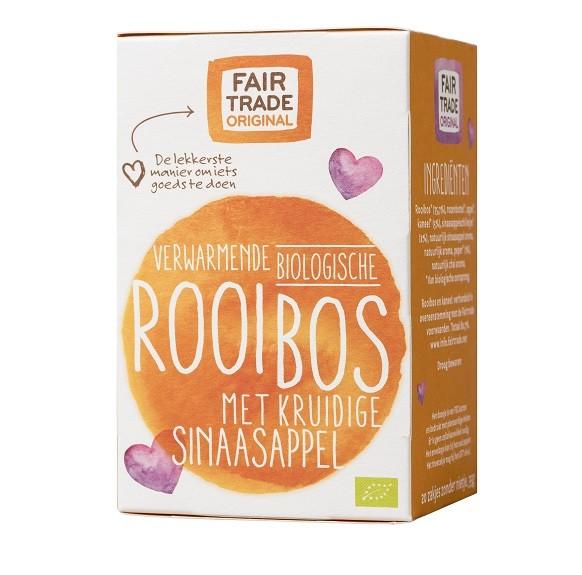 Rooibos thee kruidige sinaasappel,bio,MH,20x1,75g