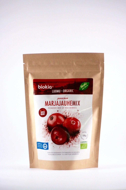 Wilde Rode bessenpoeder Organic 150gr. Biokia