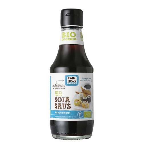 Sojasaus BIO 200ml. Fairtrade