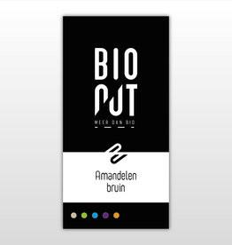 Amandelen bruin BIO 1kg. Bionut
