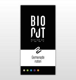 Gemengde noten geroosterd en gezouten Bio 500gr. Bionut