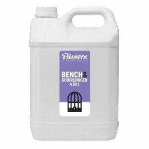 Bench- en kooienreiniger 5ltr. Bionyx