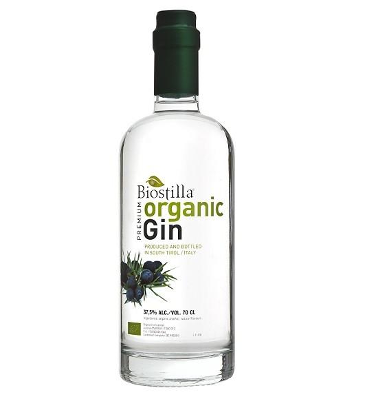 Gin organic 700ml. BIOSTILLA