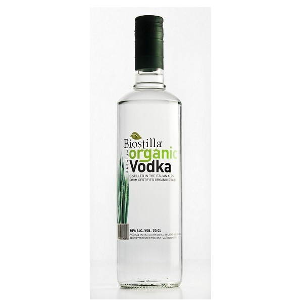 Vodka organic 700ml. BIOSTILLA