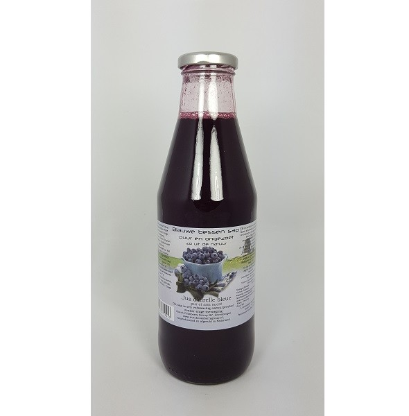 Dutch Cranberry Blauwe bessensap 750 ml