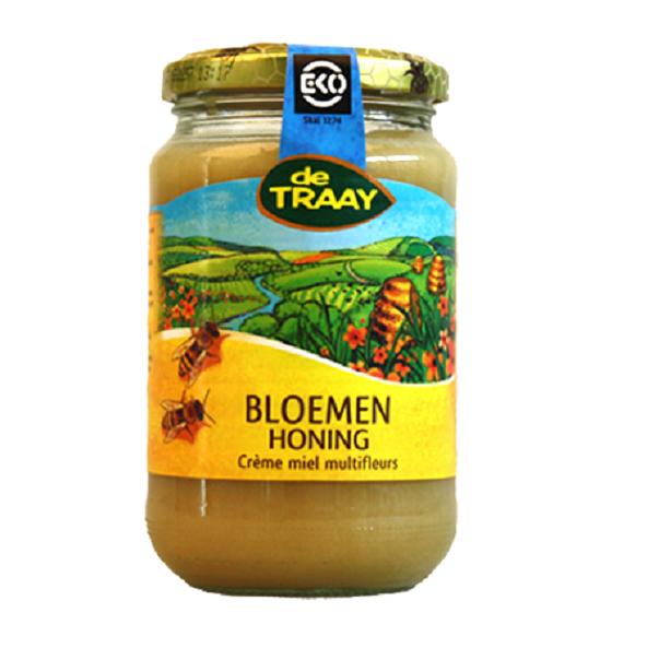 De Traay bloemen creme honing eko 450 gr